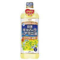 日清キャノーラ&アマニ油 900g 3本