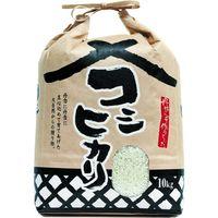 【袋・包装資材(米袋)】アサヒパック 005011001 紐付きクラフト角底窓有米蔵こしひかり 10kg 1パック(200枚入)(直送品)