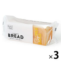 ロハコブレッド しっとり豆乳食パン 3個