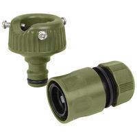 藤原産業 セフティ3 蛇口ニップルセット カラー SSK-7 OL 1セット(5個)(直送品)