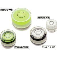 鍋屋バイテック 水平器ー組み込みタイプ FSLG-14-N-40-WH(直送品)