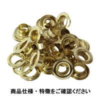 藤原産業 SK11 両面ハトメの玉 真鍮10mm NO.120 4977292178648 1セット(100組:20組×5パック)(直送品)
