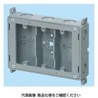 未来工業 真壁用スイッチボックス 深さ40mm・断熱シート付(防露壁用) SM40-3WNFD 1セット(5個)(直送品)