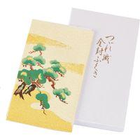 【和雑貨・ふくさ】三陽商事 有職 正絹綴織金封ふくさ 雲取松 1枚(直送品)
