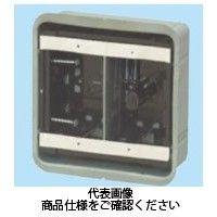 未来工業 鋼製カバー付スライドボックス(省令準耐火対応キット)(センター磁石付) 深形(深さ47mm) SBG-2FY-K(直送品)