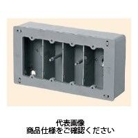 未来工業 埋込スイッチボックス(平塗代付) プラスチック製セーリスボックス CSW-4F 1個(直送品)