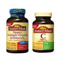 ネイチャーメイド スーパーマルチビタミン&ミネラル 120粒・120日分 + ビタミンC 200粒・100日分