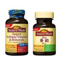 ネイチャーメイド スーパーマルチビタミン&ミネラル120粒・120日分 + 亜鉛 60粒・60日分