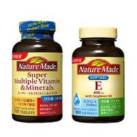 ネイチャーメイド スーパーマルチビタミン&ミネラル120粒・120日分 + ビタミンE400 100粒・100日分