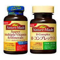 ネイチャーメイド スーパーマルチビタミン&ミネラル 120粒・120日分 + ビタミンB-コンプレックス 60粒・60日分