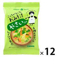 こころがなごむおみそ汁 野菜 12個