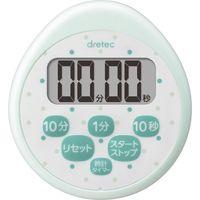 ドリテック 時計付防水タイマー グリーン 24-7287-02 1セット(5個)(直送品)