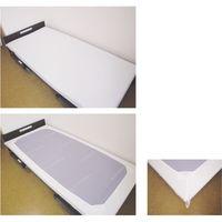 エブケア防水シーツベッド用BOX ホワイト 24-7193-00 1セット(10枚) エブノ(直送品)