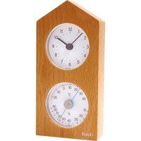 くうき・トケイダイ(温・湿度計+時計) KU-4860 エンペックス(直送品)