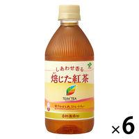 伊藤園 ティーズティー しあわせ香る焙じた紅茶 500ml × 6本 [9798]
