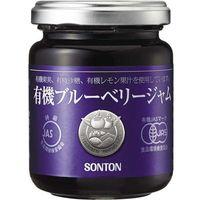 ソントン食品工業 有機ブルーベリージャム 瓶 145g×6 0230562 1ケース(6入)(直送品)