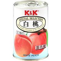 国分グループ本社 K&K 白桃 EO缶 4号缶×24 0117262 1ケース(24入)(直送品)