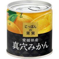 国分グループ本社 K&K にっぽんの果実 真穴みかん EO M2号缶×6 0117925 1ケース(6入)(直送品)