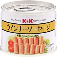 国分グループ本社 K&K ウインナーソーセージ EO 8号缶×6 0417014 1ケース(6入)(直送品)