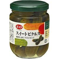讃陽食品工業 SO スイートピクルス 240g×12 1807656 1ケース(12入)(直送品)