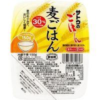 サトウのごはん 麦ごはん 150g×6 1621369 1ケース(6入) サトウ食品(直送品)