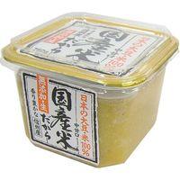 山印醸造 国産米だから(無添加生味噌)カップ 750g×6 2072250 1ケース(6入)(直送品)