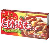 S&B おいしさギューッととけ込カレー甘口 140g×10 2507492 1ケース(10入) エスビー食品(直送品)