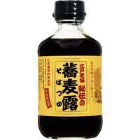 ヒゲタ醤油 江戸老舗 秘伝の蕎麦露 瓶 300ml×6 2953516 1ケース(6入)(直送品)