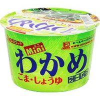 エースコック ミニわかめごま醤油ラーメン 38g×12 5107190 1ケース(12入)(直送品)