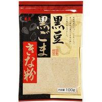 川光物産 玉三 黒豆黒ごまきな粉 100g×10 5232318 1ケース(10入)(直送品)
