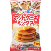 昭和産業 洋菓子が作れるホットケーキミックス 800g×15 5223921 1ケース(15入)(直送品)