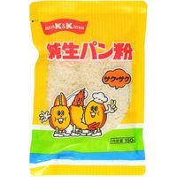 国分グループ本社 K&K 純生パン粉 サクサク 150g×20 5217624 1ケース(20入)(直送品)
