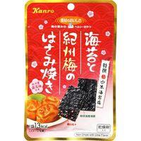 カンロ 海苔と紀州梅のはさみ焼き 4.4g×6 5515413 1ケース(6入)(直送品)