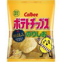 カルビー ポテトチップス のりしお 小袋 28g×24 5612650 1ケース(24入)(直送品)