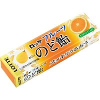 ロッテ フルーツのど飴 11粒×10 5584153 1ケース(10入)(直送品)
