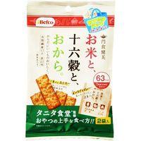 間食健美 十六穀 おでかけパック 32g×12 5716983 1ケース(12入) 栗山米菓(直送品)