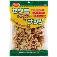 共立食品 セサミクラッカー&ナッツ 130g×10 5718312 1ケース(10入)(直送品)