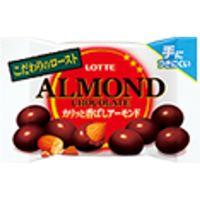 ロッテ アーモンドチョコレート カリッと香ばしアーモンド ポップジョイ 43g×10 5785452 1ケース(10入)(直送品)
