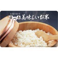 【イベント、ノベルティ、景品などにおすすめです!】伊藤忠食品 選べる美味しいお米ギフトカード 専用封筒、台紙セット isc-846644 1枚(直送品)