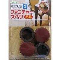清水 ファニチャースベリ 丸キャップM (4コ入) SO-FS1C-M 1セット(4P入)(直送品)