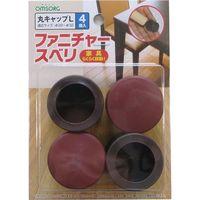 清水 ファニチャースベリ 丸キャップL (4コ入) SO-FS1C-L(直送品)