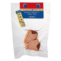 ドットわん 犬用 カツオ 薫りステーキ 無添加 2枚入 焼津産 国産 25g