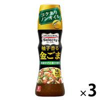 理研ビタミン リケン リケンのノンオイル セレクティ 柚子香る金ごま 150ml 3本