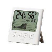 タニタ デジタル温湿度計(グラフ付き) TT-581 1個 ナビスカタログ ナビス品番:7-5923-01(直送品)