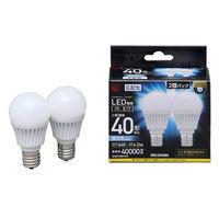 LED電球E17 40形相当昼白色 2個