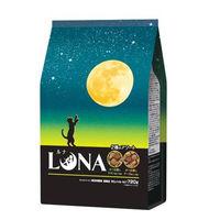 ルナ(LUNA)猫用 成猫 かつお節&チキン味とチーズ味ビッツ添え 国産 720g(180g×4袋)ペットライン