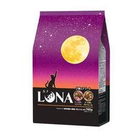 ルナ(LUNA)猫用 成猫 かつお節と小えび&ほたて味ビッツ添え 国産 720g(180g×4袋)ペットライン