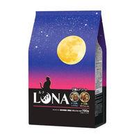 ルナ(LUNA)猫用 成猫 かつお節としらす&ほたて味ビッツ添え 国産 720g(180g×4袋)ペットライン