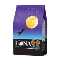 ルナ(LUNA)猫用 成猫 かつお節&ほたて味とチキン味ビッツ添え 国産 720g(180g×4袋)ペットライン