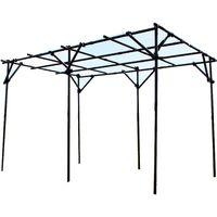 第一ビニール ガーデンアグリパイプ 果樹棚セット 幅2m×奥行2m×高さ2m 40631(直送品)
